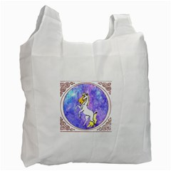 Framed Unicorn Recycle Bag (Two Sides)