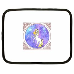 Framed Unicorn Netbook Case (XL)