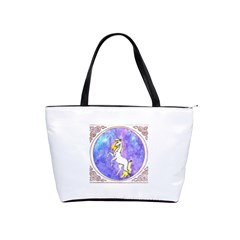 Framed Unicorn Large Shoulder Bag