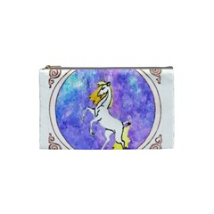 Framed Unicorn Cosmetic Bag (small)