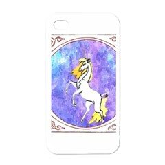 Framed Unicorn Apple iPhone 4 Case (White)