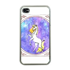 Framed Unicorn Apple iPhone 4 Case (Clear)