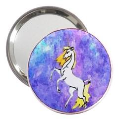 Framed Unicorn 3  Handbag Mirror