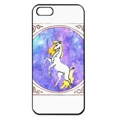 Framed Unicorn Apple iPhone 5 Seamless Case (Black)