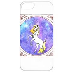 Framed Unicorn Apple Iphone 5 Classic Hardshell Case