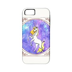 Framed Unicorn Apple iPhone 5 Classic Hardshell Case (PC+Silicone)