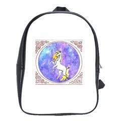 Framed Unicorn School Bag (XL)