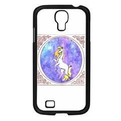 Framed Unicorn Samsung GALAXY S4 I9500 (Black)