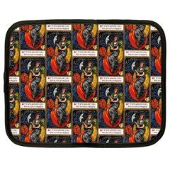 Halloween Vintage Netbook Case (XXL)
