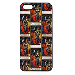 Halloween Vintage Apple iPhone 5 Seamless Case (Black)