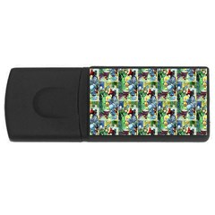 The Harmless Charms Of Halloween  1GB USB Flash Drive (Rectangle)