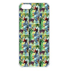 The Harmless Charms Of Halloween  Apple iPhone 5 Seamless Case (White)