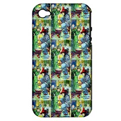 The Harmless Charms Of Halloween  Apple iPhone 4/4S Hardshell Case (PC+Silicone)