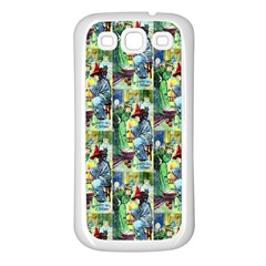 The Harmless Charms Of Halloween  Samsung Galaxy S3 Back Case (White)