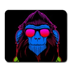 One Cool Gorilla Large Mouse Pad (Rectangle)