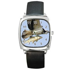 972365 574168389308603 1915470104 N Square Leather Watch