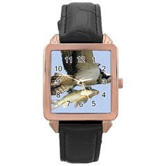 972365 574168389308603 1915470104 N Rose Gold Leather Watch