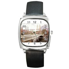 581163 10151851386387103 949252325 N Square Leather Watch