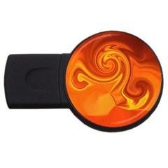 L247 1GB USB Flash Drive (Round)