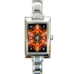 Smoke Art 1 Rectangular Italian Charm Watch