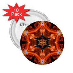 Smoke Art 1 2 25  Button (10 Pack)