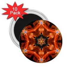 Smoke Art 1 2 25  Button Magnet (10 Pack)