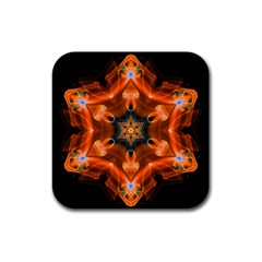 Smoke Art 1 Drink Coasters 4 Pack (Square)