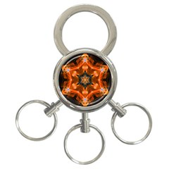 Smoke Art 1 3-Ring Key Chain