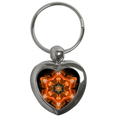 Smoke Art 1 Key Chain (Heart)