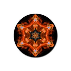 Smoke Art 1 Drink Coasters 4 Pack (Round)
