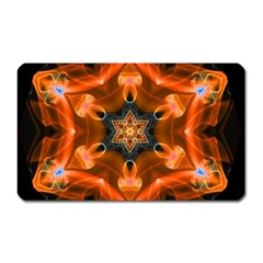 Smoke Art 1 Magnet (rectangular)