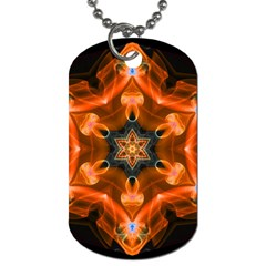 Smoke Art 1 Dog Tag (One Sided)