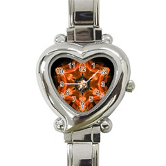 Smoke Art 1 Heart Italian Charm Watch