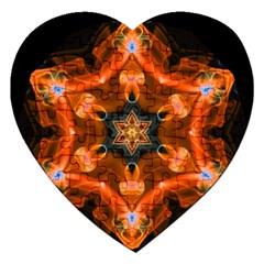 Smoke Art 1 Jigsaw Puzzle (heart)