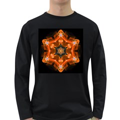 Smoke Art 1 Mens' Long Sleeve T Shirt (dark Colored)