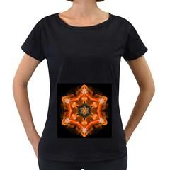 Smoke Art 1 Womens' Maternity T Shirt (black)