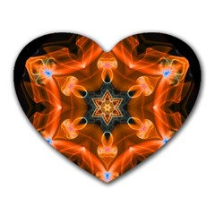 Smoke Art 1 Mouse Pad (Heart)