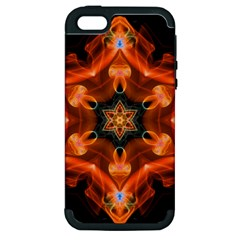 Smoke Art 1 Apple iPhone 5 Hardshell Case (PC+Silicone)
