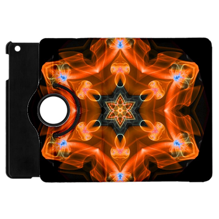 Smoke Art 1 Apple iPad Mini Flip 360 Case