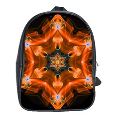 Smoke Art 1 School Bag (XL)