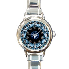 Smoke art 2 Round Italian Charm Watch