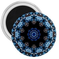 Smoke art 2 3  Button Magnet