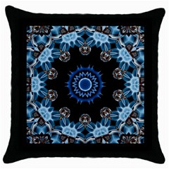 Smoke Art 2 Black Throw Pillow Case