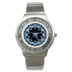 Smoke Art 2 Stainless Steel Watch (unisex)