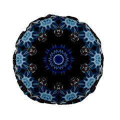 Smoke art 2 15  Premium Round Cushion