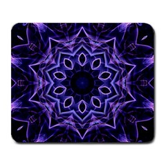 Smoke art (2) Large Mouse Pad (Rectangle)
