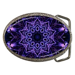 Smoke Art (2) Belt Buckle (oval)