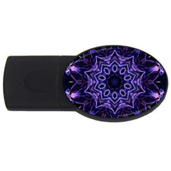 Smoke art (2) 2GB USB Flash Drive (Oval)
