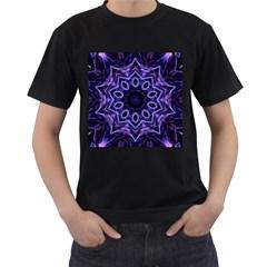 Smoke art (2) Mens' Two Sided T-shirt (Black)