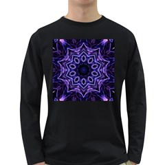 Smoke art (2) Mens' Long Sleeve T-shirt (Dark Colored)